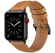Apple Watch leren band (bruin)