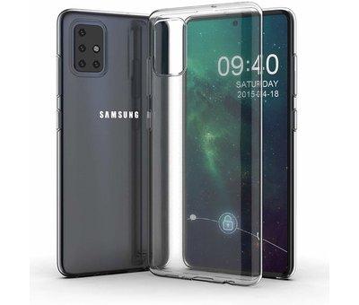 ShieldCase Shieldcase Ultra slim transparante silicone case Samsung Galaxy A71