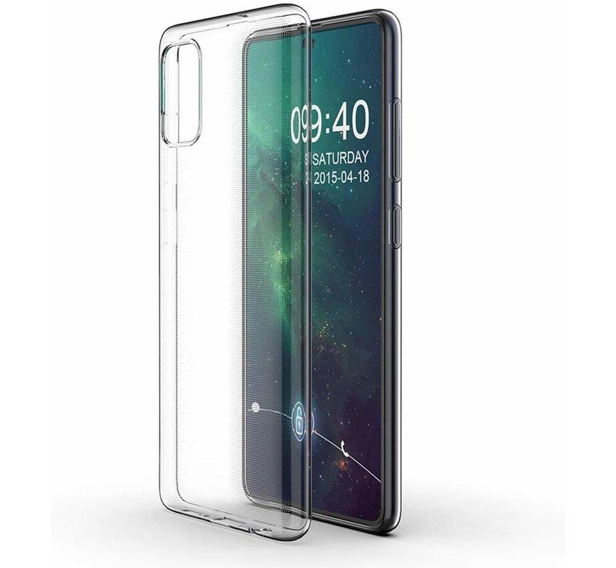 Shieldcase Ultra slim transparante silicone case Samsung Galaxy A71