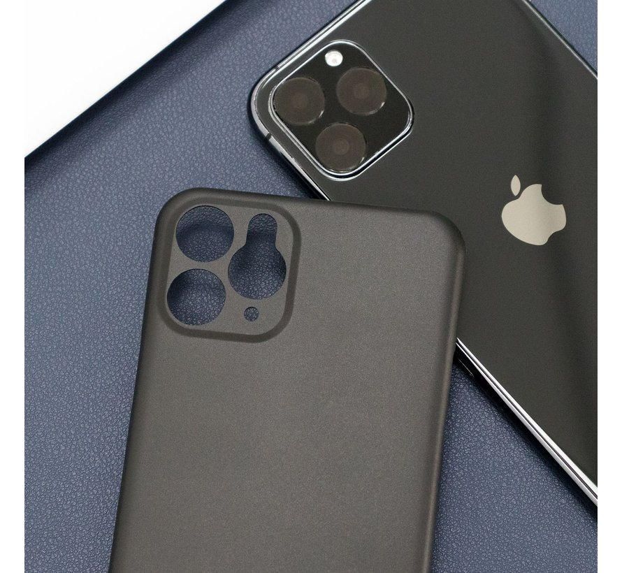 ShieldCase Ultra dun hoesje iPhone 11 pro max (zwart)