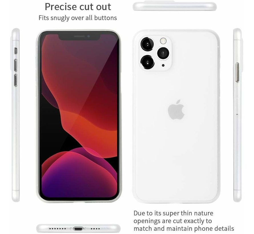 ShieldCase extreem dun iPhone 11 hoesje transparant