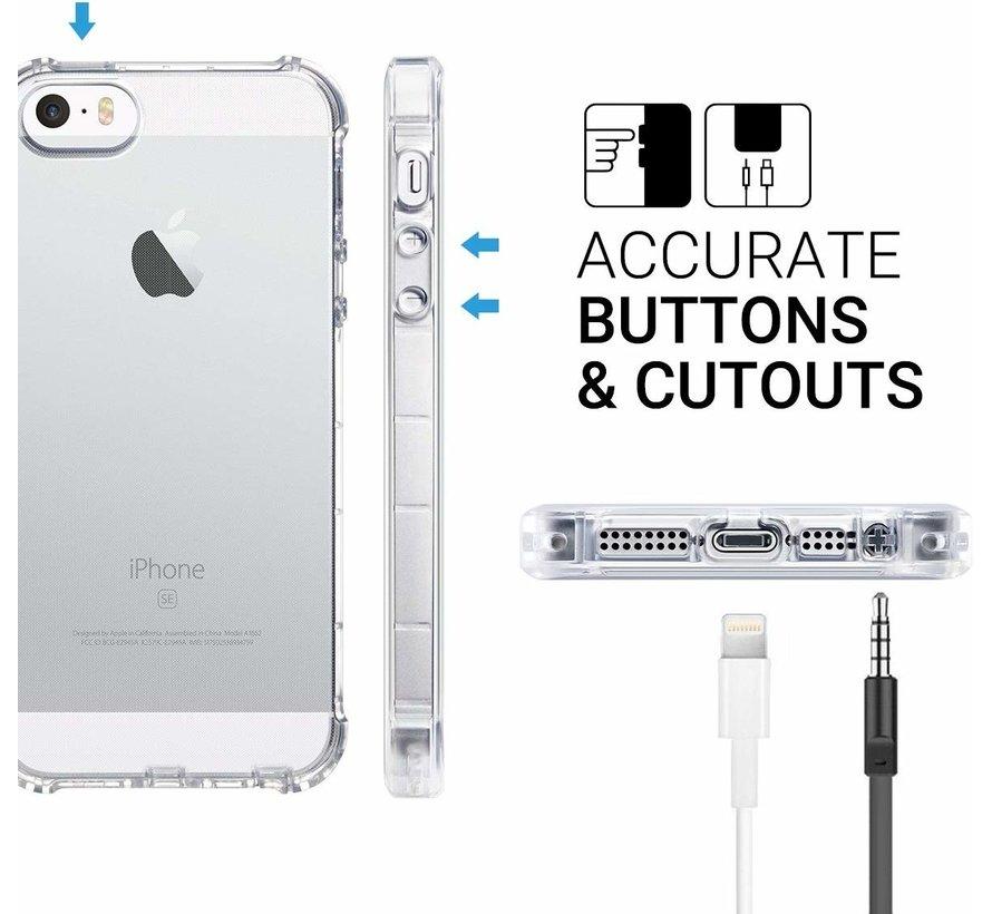 ShieldCase Shock case iPhone 5 / 5S / SE transparant