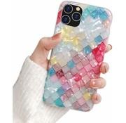 ShieldCase® Geribbelde gekleurde case iPhone 11 Pro