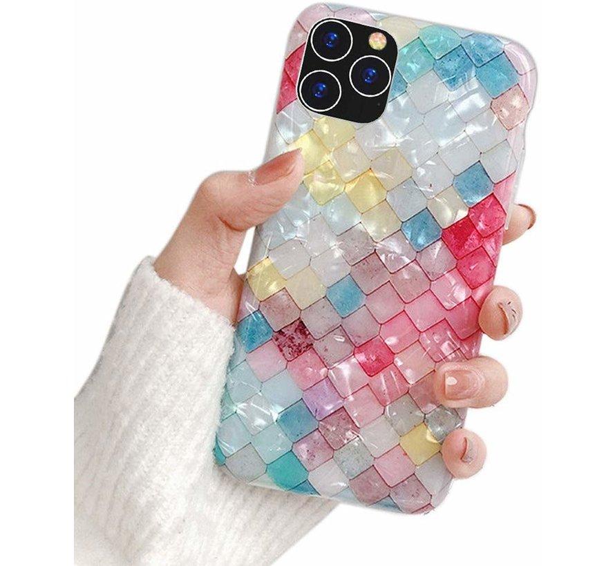 ShieldCase geribbelde gekleurde case iPhone 11 Pro Max