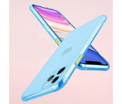 ShieldCase® ShieldCase gekleurde Shock case iPhone 11 Pro Max (blauw)
