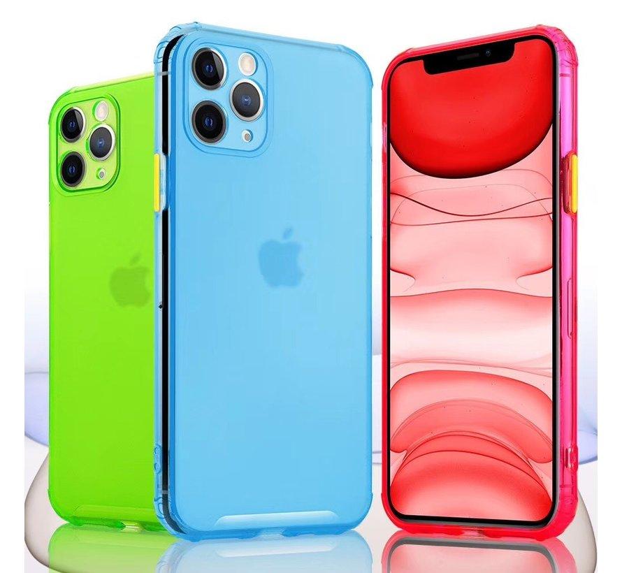 ShieldCase gekleurde Shock case iPhone 11 Pro Max (blauw)