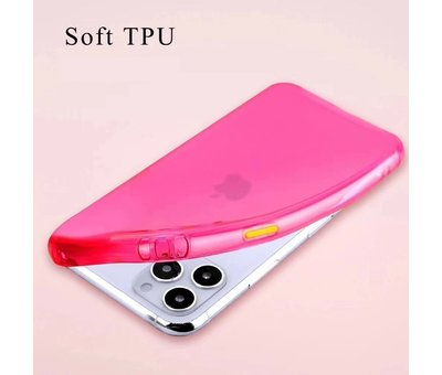 ShieldCase® ShieldCase gekleurde Shock case iPhone 11 Pro Max  (roze)