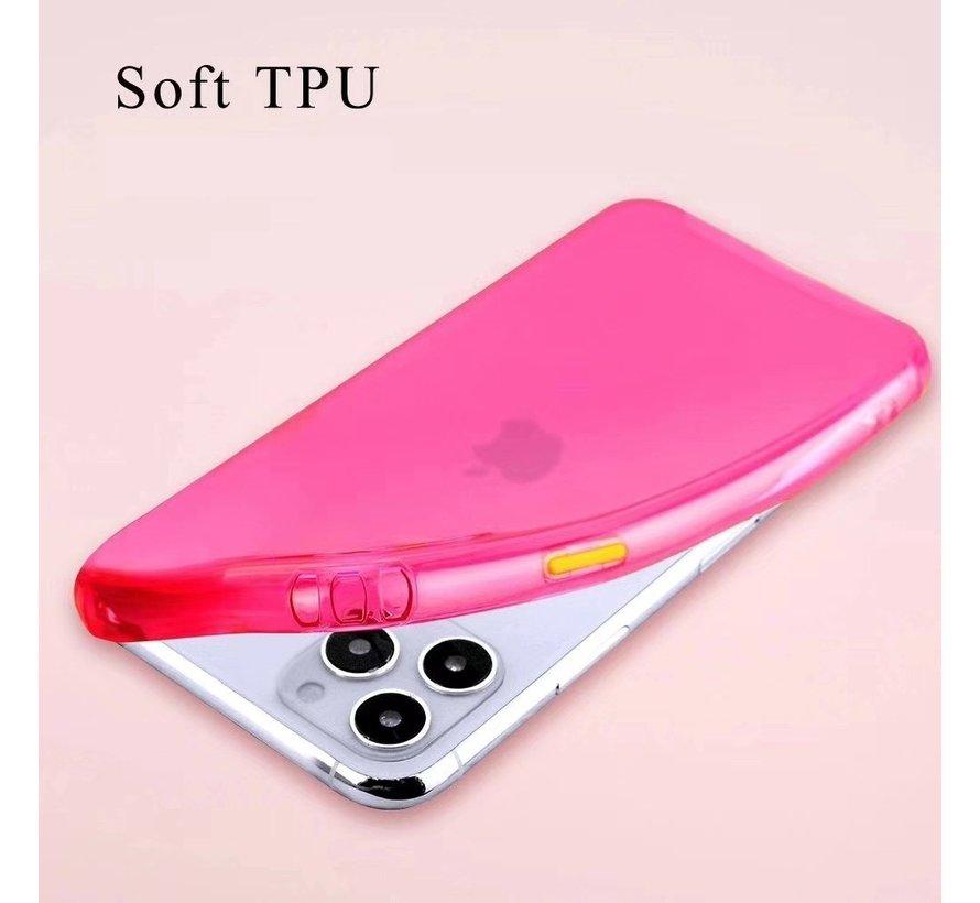 ShieldCase gekleurde Shock case iPhone 11 Pro Max  (roze)