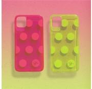 ShieldCase® Rock The Dots iPhone 11 hoesje (roze)