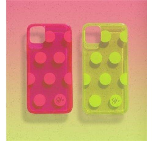 ShieldCase ShieldCase roze hoesje met cirkels iPhone 11