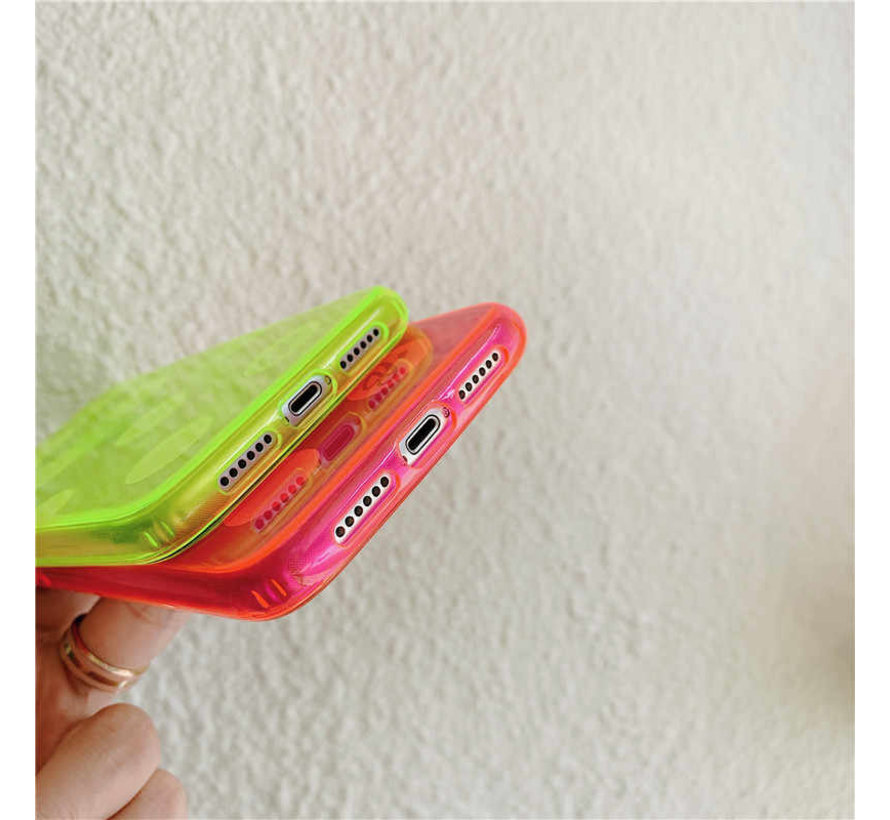 ShieldCase roze hoesje met cirkels iPhone 11
