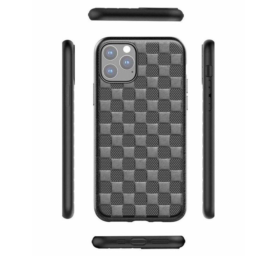 ShieldCase Geblokt iPhone 11 hoesje (bruin)
