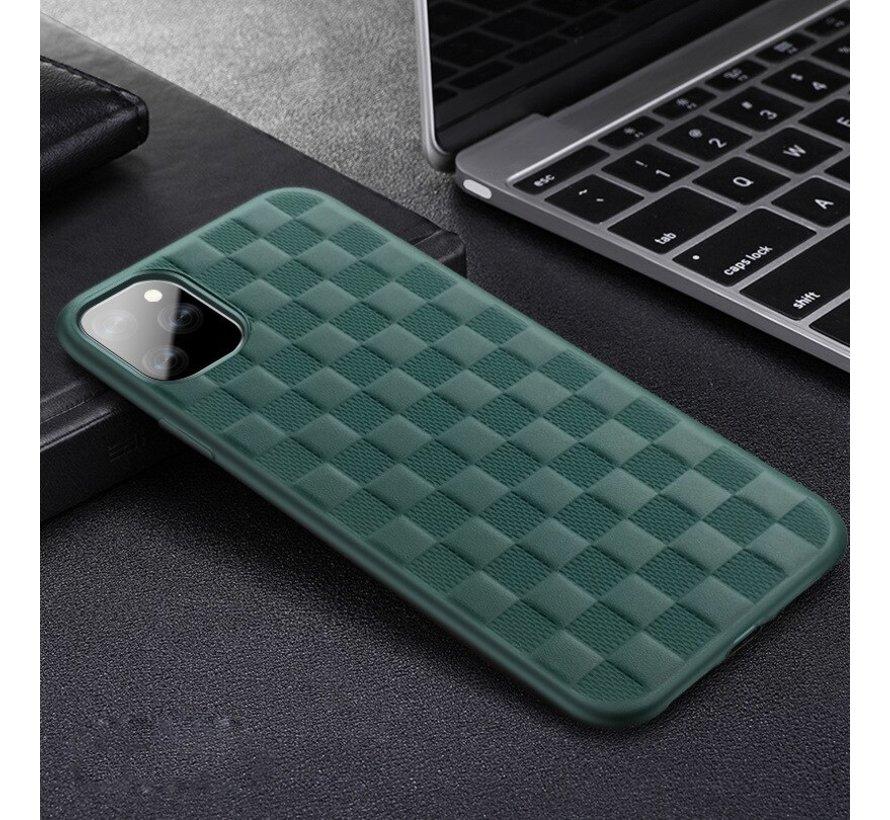 ShieldCase geblokt iPhone 11 hoesje (groen)