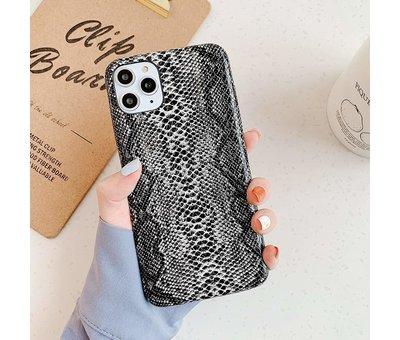 ShieldCase ShieldCase Slangenleer hoesje iPhone 11 (zwart-wit)
