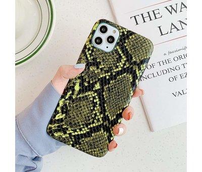 ShieldCase Slangenleer hoesje iPhone 11 (groen)