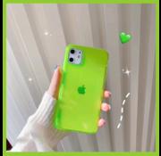 ShieldCase® Fluoriserend hoesje iPhone 11 (geel)
