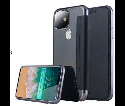 ShieldCase ShieldCase gegalvaniseerde flipcase iPhone 11 (zwart)
