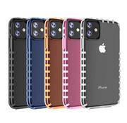 ShieldCase Gestreepte roze case iPhone 11