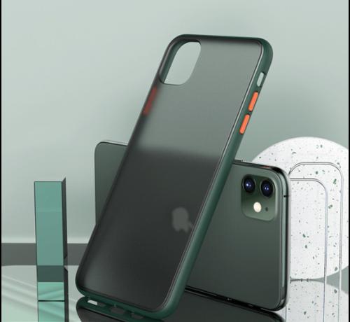 ShieldCase® ShieldCase verharde bumper case iPhone 11 (donkergroen)