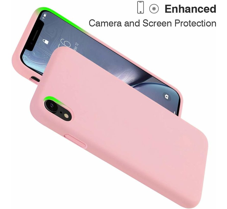 Shieldcase Silicone case iPhone Xr (roze)