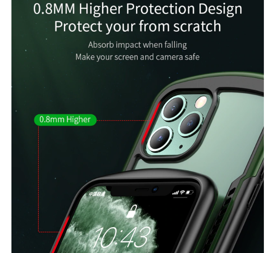 ShieldCase schokbestendig hoesje iPhone 11 Pro Max (geel)