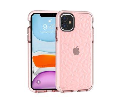 ShieldCase ShieldCase diamanten case iPhone 11 (roze)