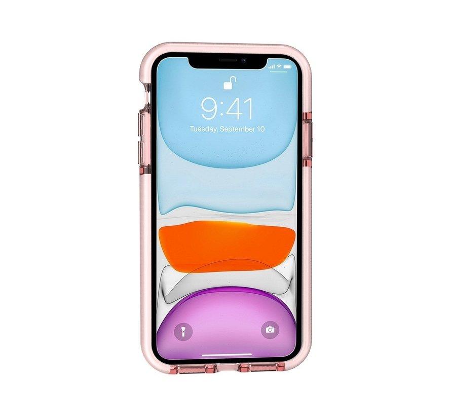 ShieldCase diamanten case iPhone 11 (roze)