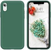 ShieldCase® Silicone case iPhone Xr (groen)
