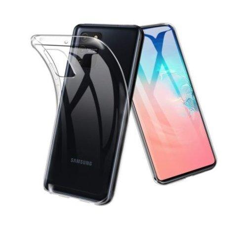 ShieldCase® Shieldcase dun hoesje Samsung Galaxy S10 Lite (transparant)