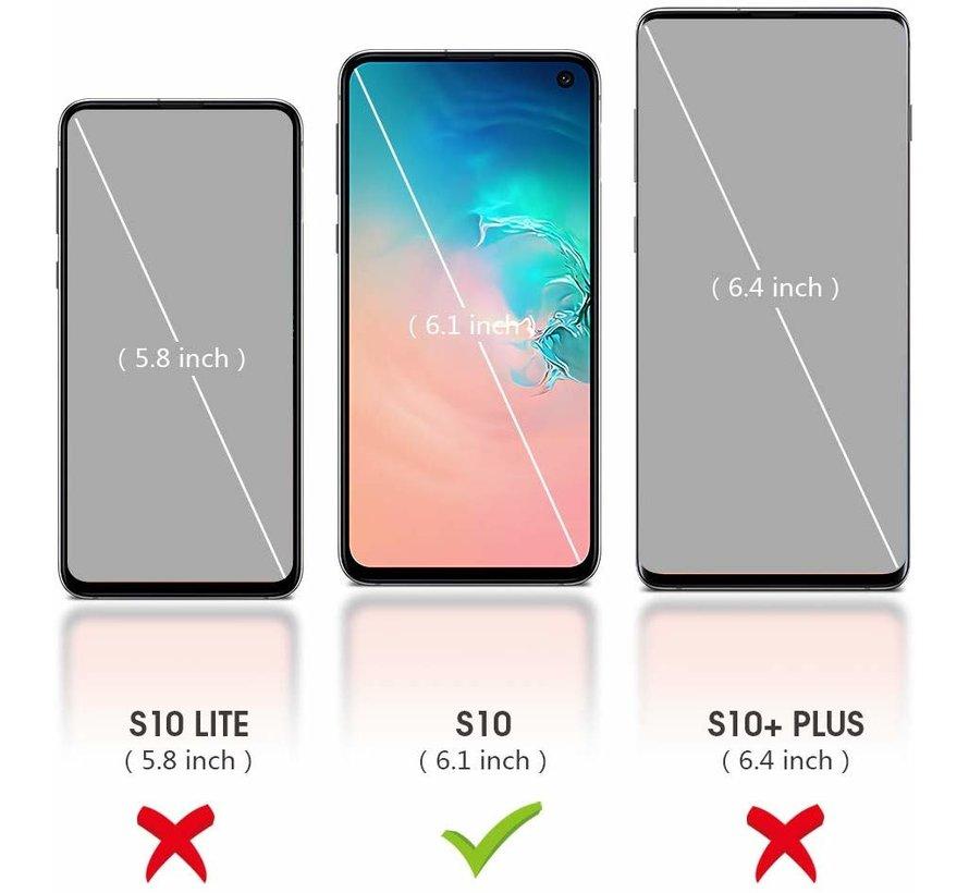Shieldcase Silicone case Samsung Galaxy S10 (groen)