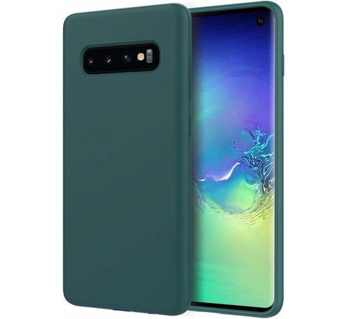 ShieldCase Shieldcase Silicone case Samsung Galaxy S10 (groen)