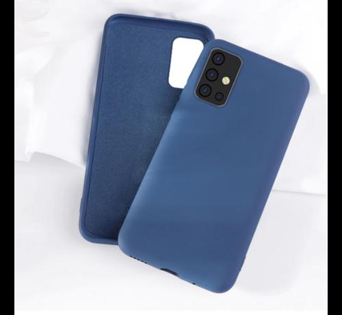 ShieldCase Shieldcase silicone case Samsung Galaxy A71 (blauw)
