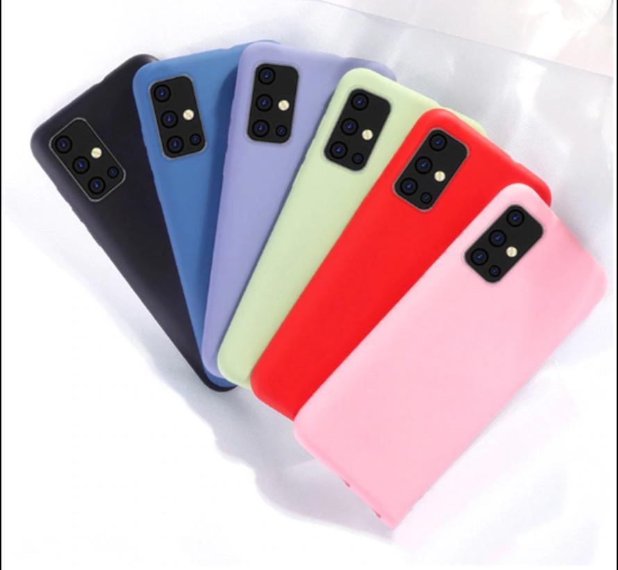 Shieldcase silicone case Samsung Galaxy A71 (roze)