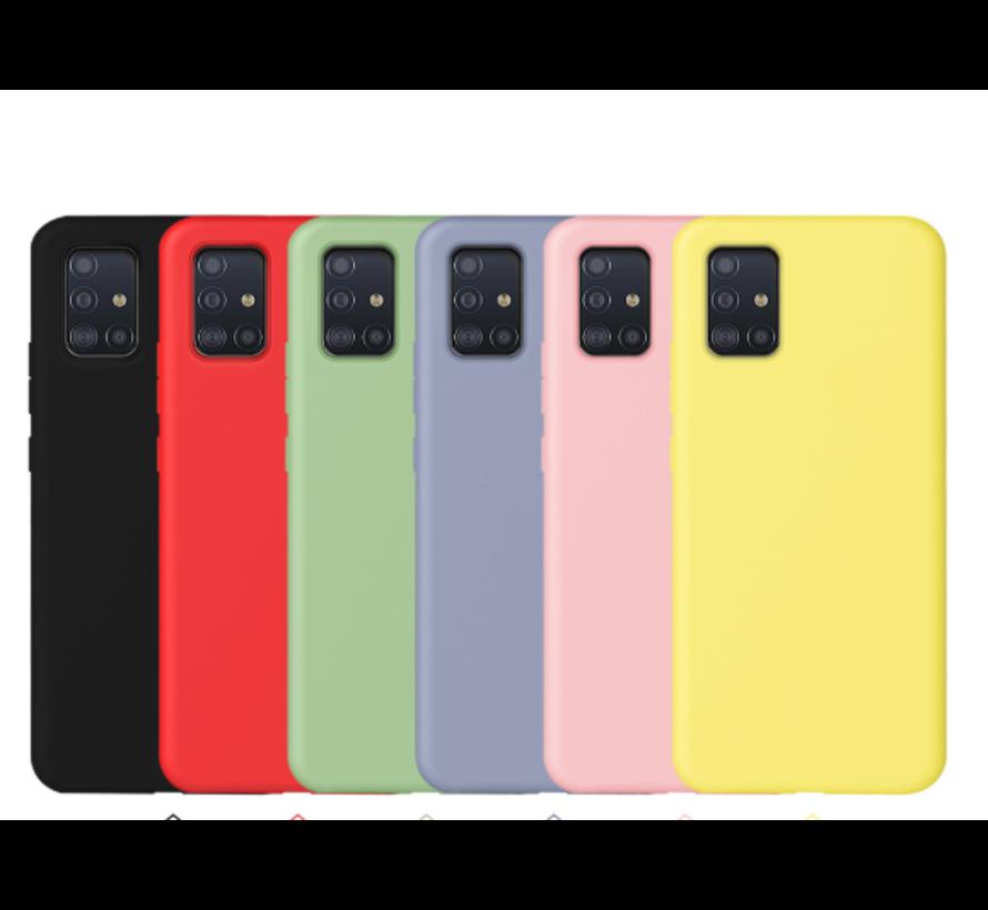 Shieldcase silicone case Samsung Galaxy A51 (donkergroen)