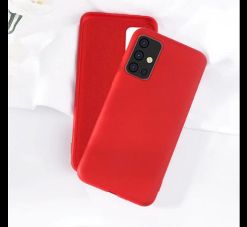 ShieldCase Shieldcase silicone case Samsung Galaxy A51 (rood)