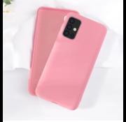 ShieldCase Silicone case Samsung Galaxy A51 (roze)