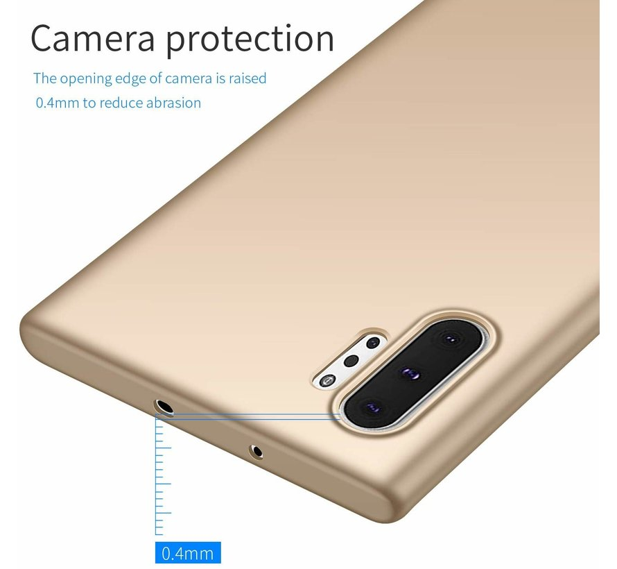 ShieldCase Ultra thin case Samsung Galaxy Note 10 Plus (goud)