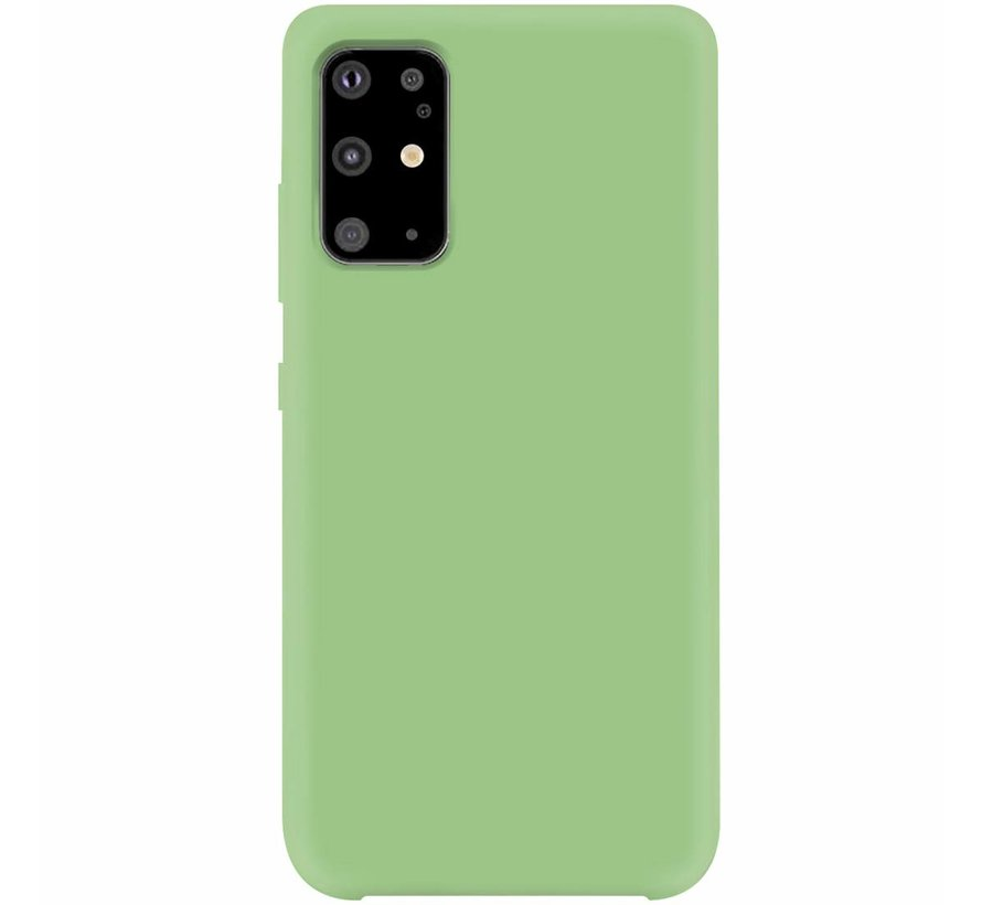 Shieldcase Silicone case Samsung Galaxy S20 Plus (lichtgroen)