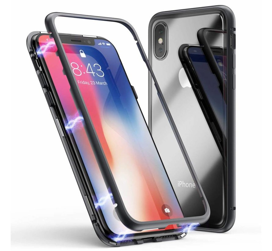 ShieldCase magnetisch tempered glass hoesje iPhone X / Xs