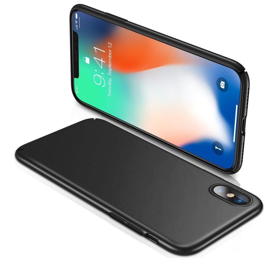 ShieldCase iPhone X / Xs ultra thin case (zwart)