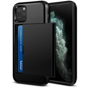 ShieldCase® Kaarthouder case met slide iPhone 11 Pro (zwart)