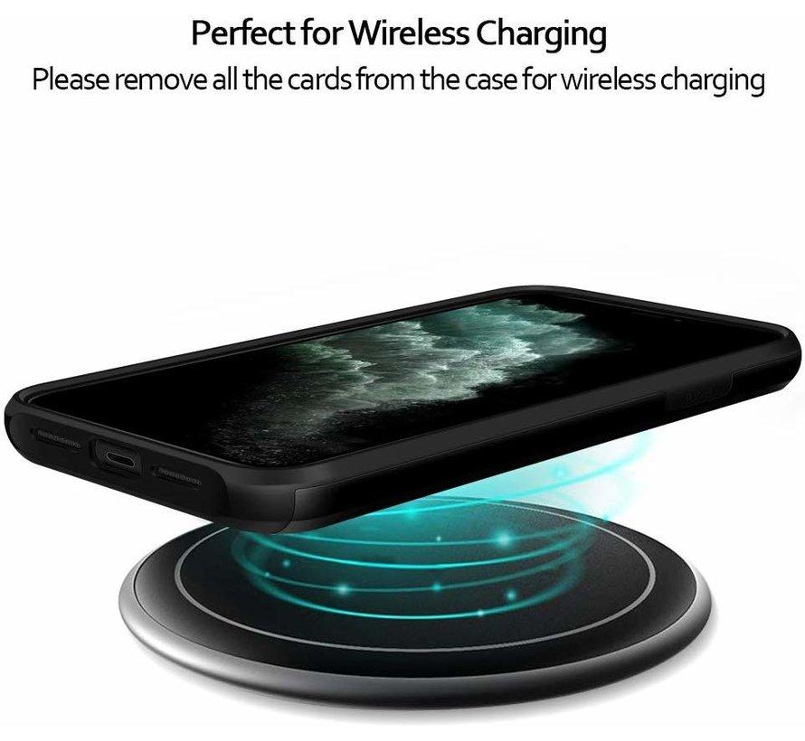 ShieldCase Kaarthouder case met slide iPhone 11 Pro (zwart)