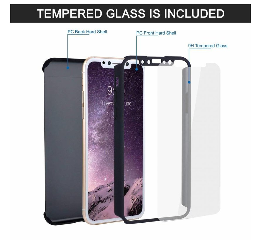 Shieldcase  iPhone X / Xs 360 case