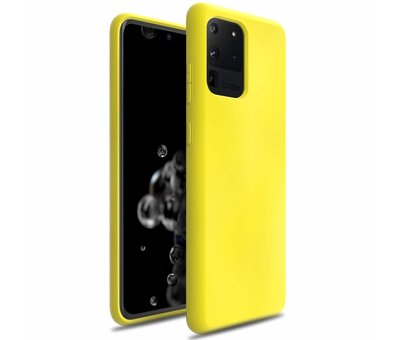ShieldCase Shieldcase siliconen hoesje Samsung Galaxy S20 Ultra (geel)
