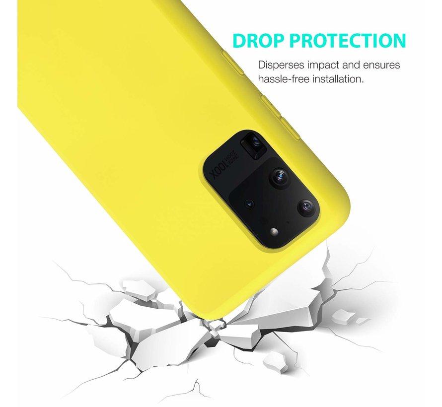 Shieldcase siliconen hoesje Samsung Galaxy S20 Ultra (geel)