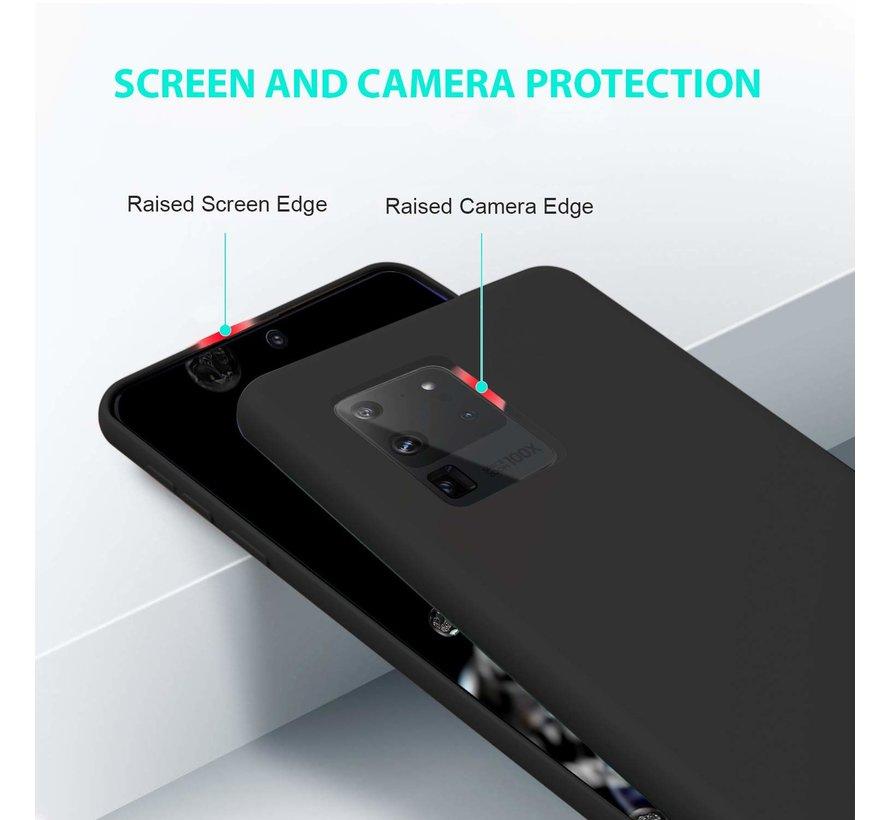 Shieldcase Siliconen hoesje Samsung Galaxy S20 Ultra (zwart)