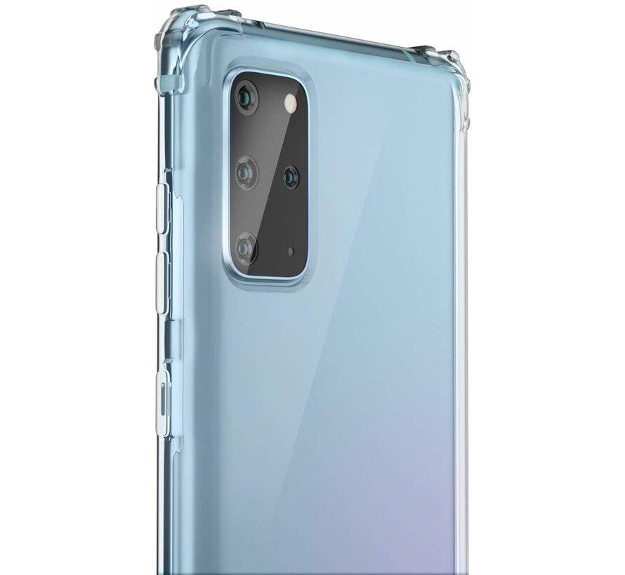 ShieldCase Shock case Samsung  Galaxy S20 Plus (transparant)