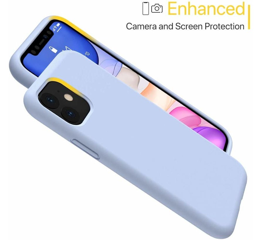 ShieldCase Silicone case iPhone 11 (paars)