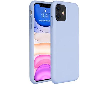 ShieldCase® ShieldCase Silicone case iPhone 11 (paars)