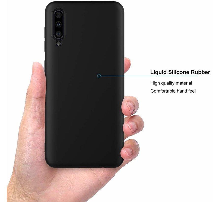 Shieldcase Silicone case Samsung Galaxy A50 (zwart)